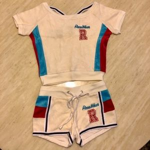New ROCAWEAR Hot Sporty Towel Suit Size S/M